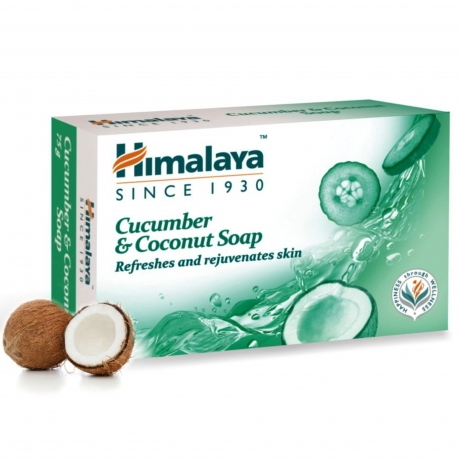CUCUMBER & coconut mydlo