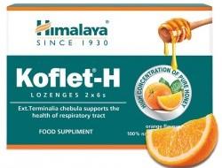 KOFLET-H pastilky na bolesť hrdla s príchuťou pomaranč