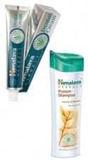 Balíček - Zubná pasta a proteínový šampón - Volume & Bounce